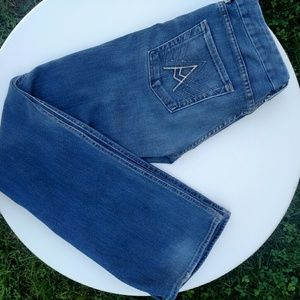 """7 For All Mankind """"A"""" Pocket Flare Denim 30"""